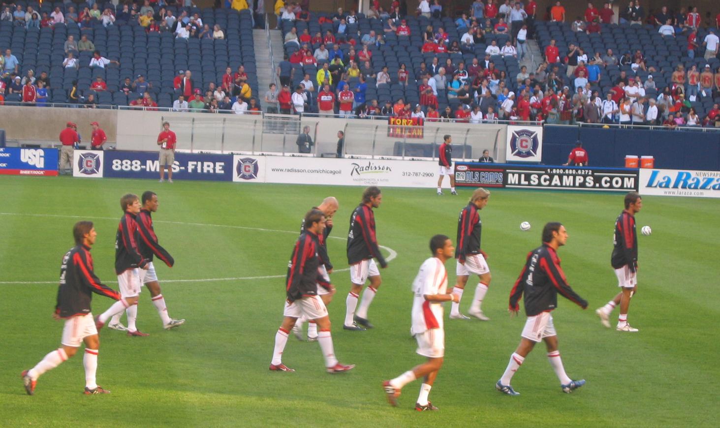 Europeiska fotbollsklubbar med många fans – AC Milan