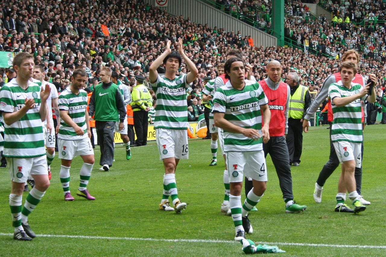 Europeiska fotbollsklubbar med många fans – Celtic